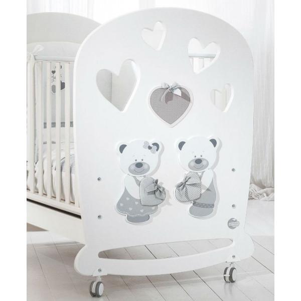 Baby Expert Bon Bon детская кроватка (белый)