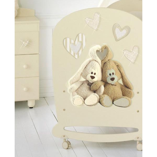Baby Expert Cremino Lux кроватка качалка