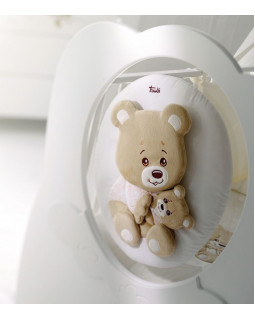 кроватка детская Baby Expert Abbracci by Trudi белый