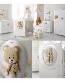 Baby Expert Abbracci by Trudi мебель детская (белый)
