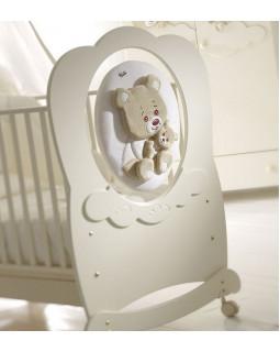 кроватка детская Baby Expert Abbracci by Trudi крем