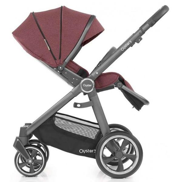 Oyster 3 коляска 2 в 1 детская от рождения