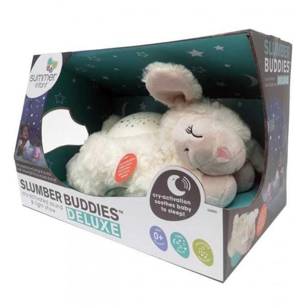 Светильник-проектор звездного неба Summer Infant Slumber Buddies Deluxe овечка