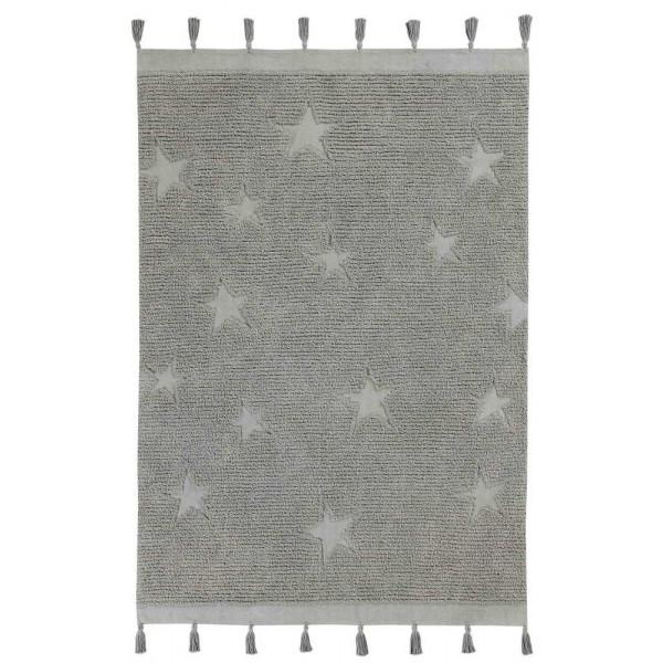 ковер Lorena Canals Звезды хиппи серые 120x175 см
