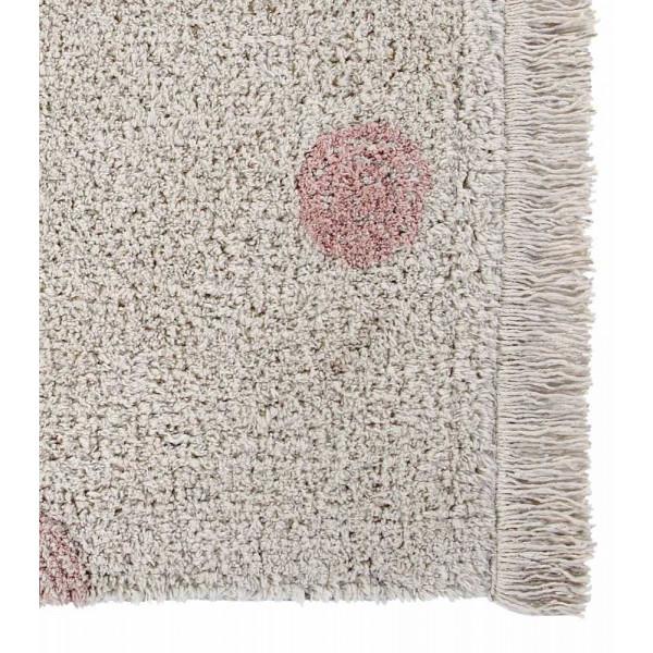 ковер Lorena Canals Хиппи горошек винтажный нюдовый 120*160 см
