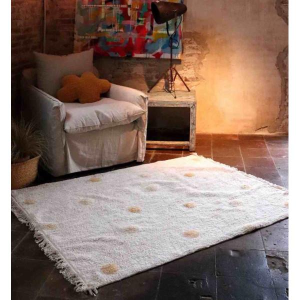 ковер Lorena Canals Хиппи горошек медовый 120*160 см