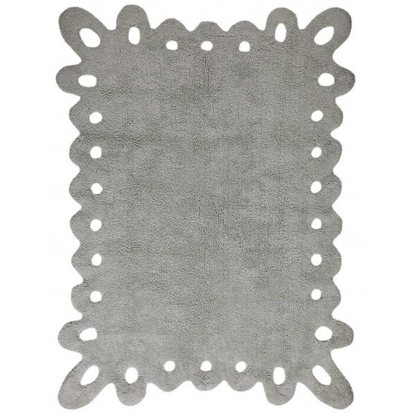 ковер Lorena Canals Кружево Lace серый 120x160 см