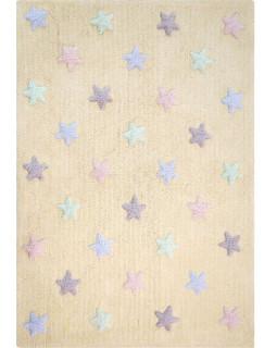 Детский ковер Lorena Canals Stars Tricolor (ванильный)