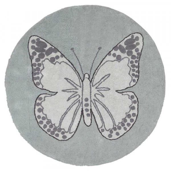 ковер Lorena Canals Бабочка винтажный зеленый