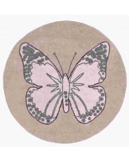 Детский ковер Lorena Canals Бабочка винтажный бежевый