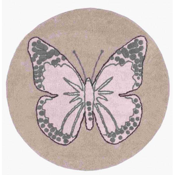 ковер Lorena Canals Бабочка винтажный бежевый