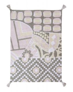 Детский ковер Lorena Canals Indian Bag (серый-розовый) 120х160 см