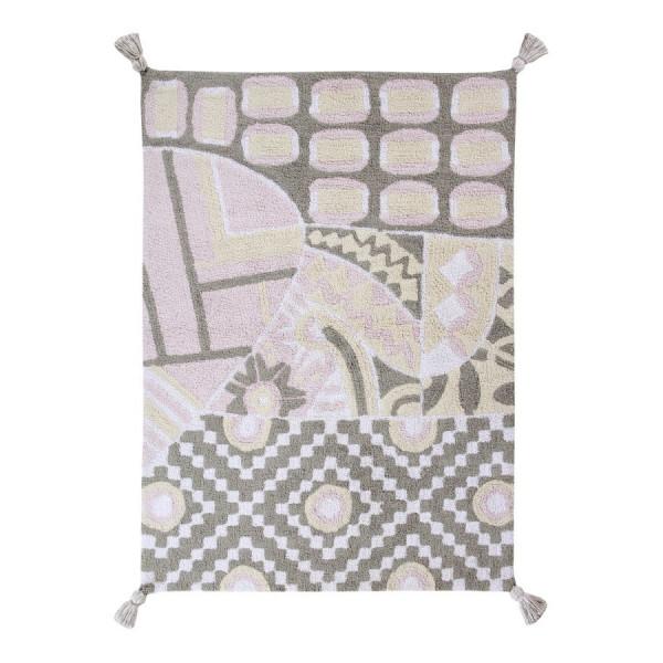 ковер Lorena Canals Indian Bag (серый-розовый) 120x160 см