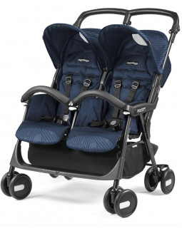 коляска Peg-Perego Aria Shopper Twin для двойни