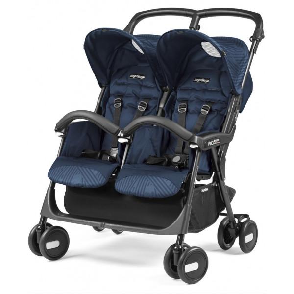 коляска для двойни Peg-Perego Aria Shopper Twin