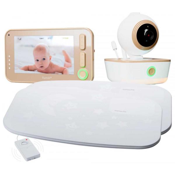 Видеоняня Ramili Baby RV1300SP2 с монитором дыхания