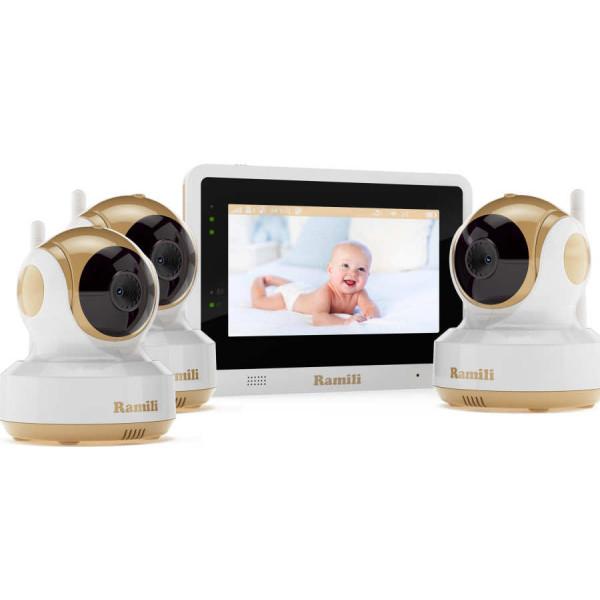 Видеоняня Ramili Baby RV1500X3 с тремя камерами