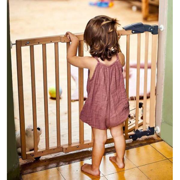 Ворота безопасности Geuther 2714 деревянные раздвижные 68-102 см
