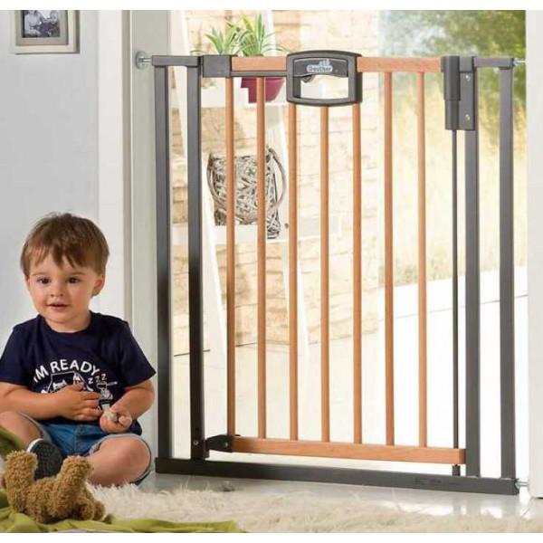 Ворота безопасности для детей Geuther Easy lock Wood 2792 Plus