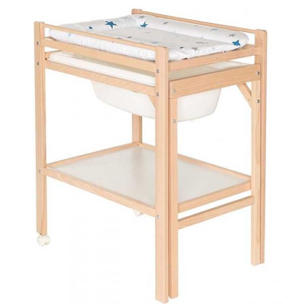 Мобильный пеленальный столик с ванночкой Geuther Emma