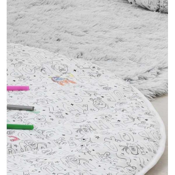 Игровой коврик Italbaby Color Me