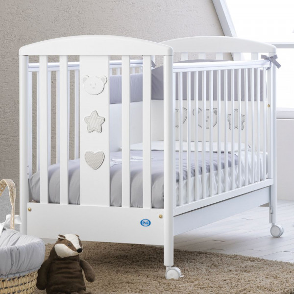 Детская кроватка Pali Merlino (Birillo) белый