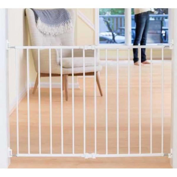 ворота безопасности 64-99,5 см Safe and Care (цвет белый, металл)