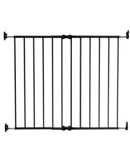 Ворота детские на 64-99,5 см Safe and Care 110-0 черный с креплением в стену