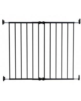 Ворота детские на 64-99,5 см Safe and Care 110-0 (графит) с креплением в стену