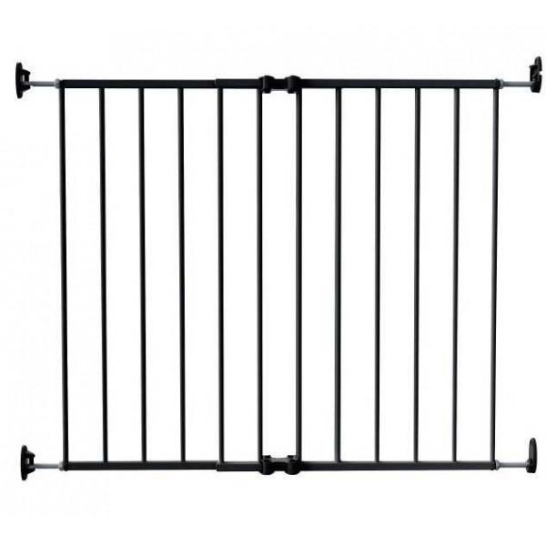 ворота безопасности 64-99,5 см Safe and Care (цвет черный металл)