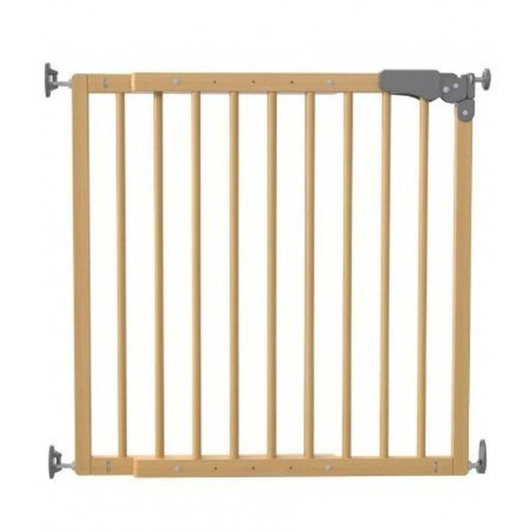 ворота безопасности 73-108 см Safe and Care (натуральное дерево)