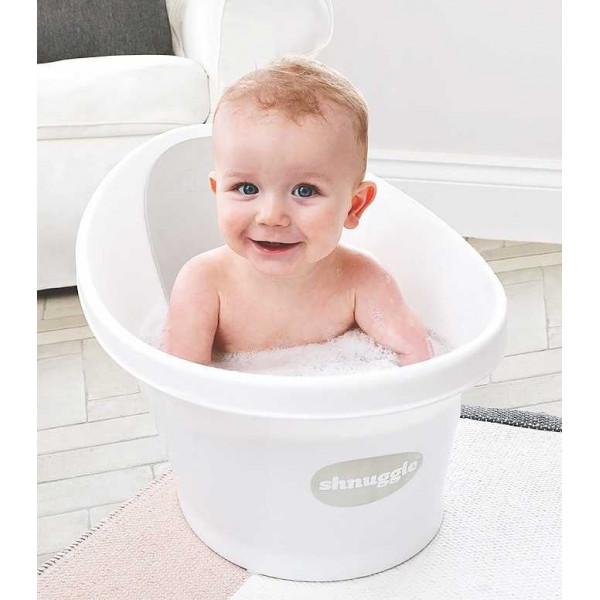 Ванночка для купания Shnuggle с мягкой спинкой и фиксатором