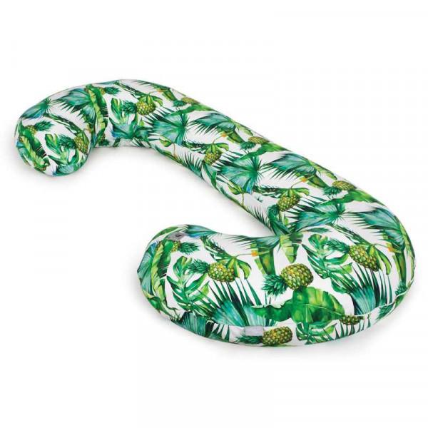 Подушка для кормления Ceba Baby Physio Duo Flora & Fauna трикотажная