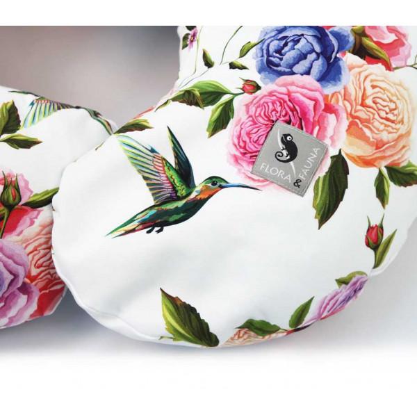 Ceba Baby Physio Mini Flora & Fauna подушка для беременных и кормления ребенка