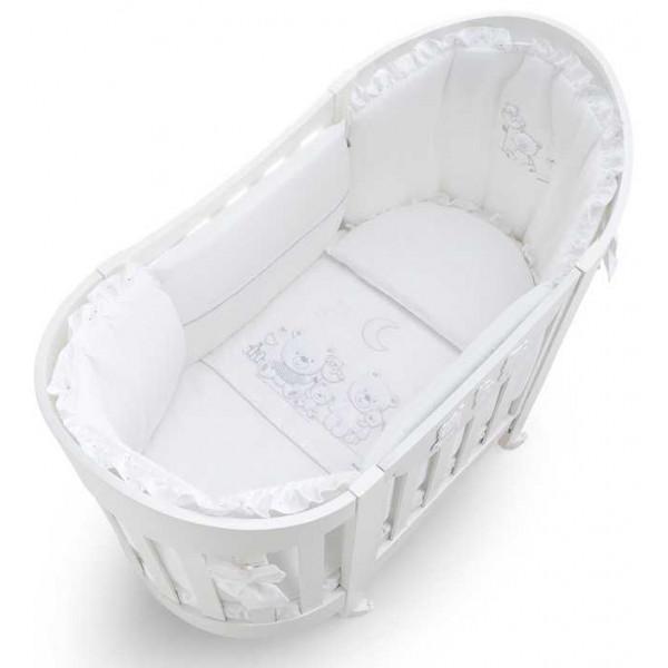 Детская кроватка Italbaby Happy Family Oval