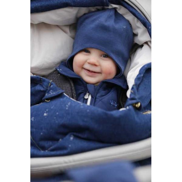Конверт зимний для новорожденного Design By Voksi