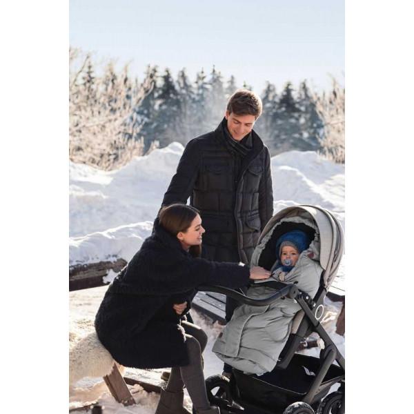 Конверт зимний в коляску для новорожденного Voksi City