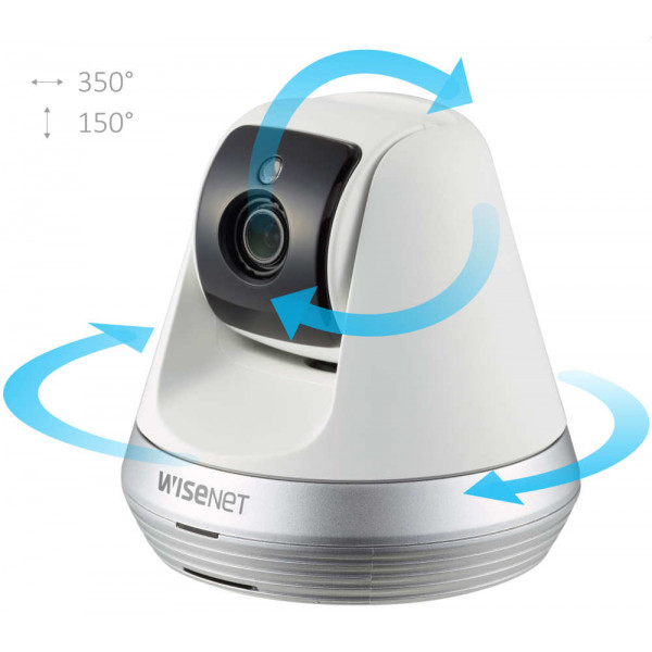 Wi-Fi Full HD 1080p видеоняня Wisenet SmartCam SNH-V6410PNW