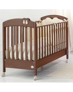 Baby Expert Lui Lei детская кроватка (орех)