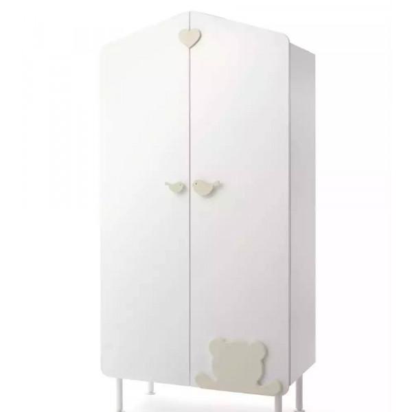 шкаф двустворчатый Baby Expert Casetta