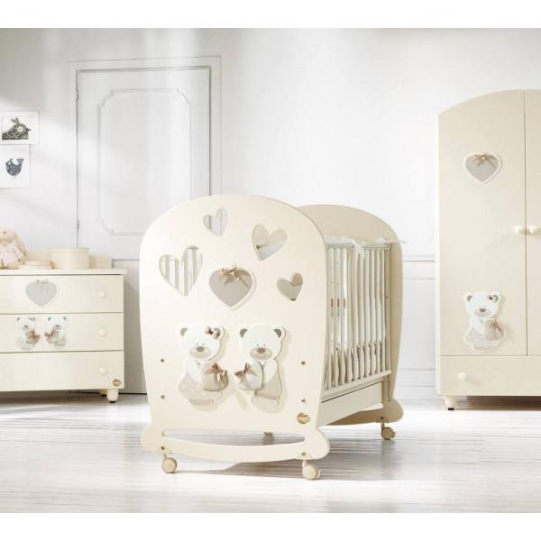 мебель Baby Expert Bon Bon крем в комнату новорожденного