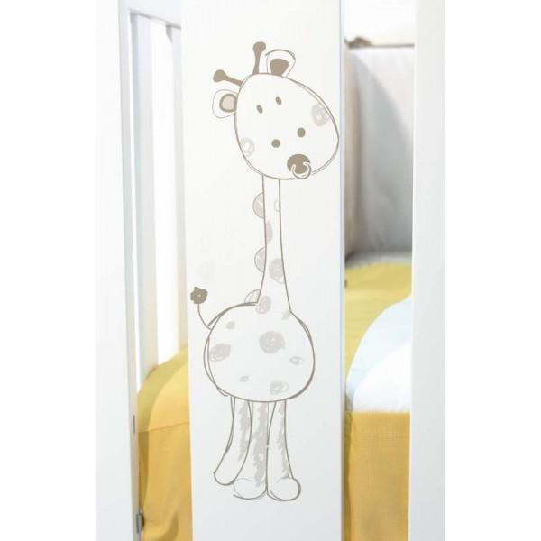 детская кроватка Micuna Baby Giraffe + Матрас 120х60 см.