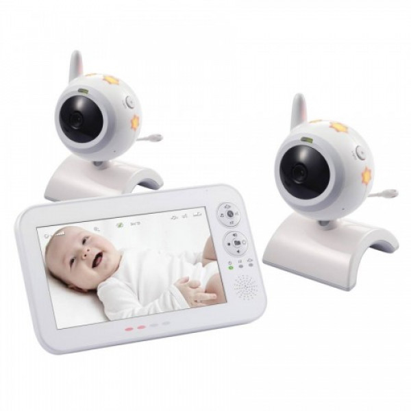 Видеоняня с 2 камерами Switel BCF 930 Duo