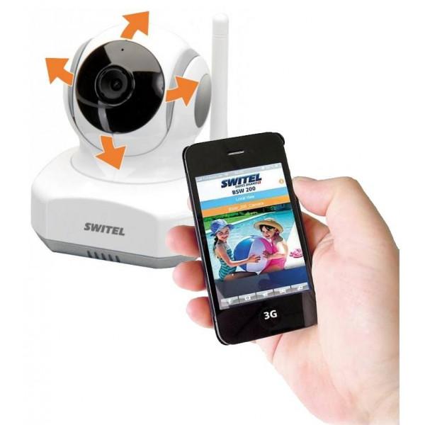 HD Wi-Fi видеоняня Switel BSW200