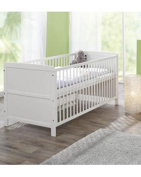 кровать белая Geuther Pascal