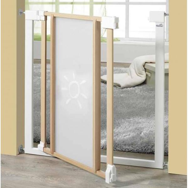 Детские ворота безопасности для детей Geuther Vario Safe Plexi 2786