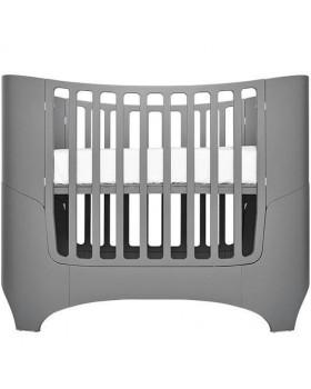 Овальная кроватка Leander трансформер (Серый)