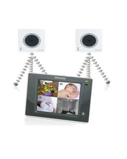 видеоняня Miniland Digimonitor 3.5 Touch с 2 камерами