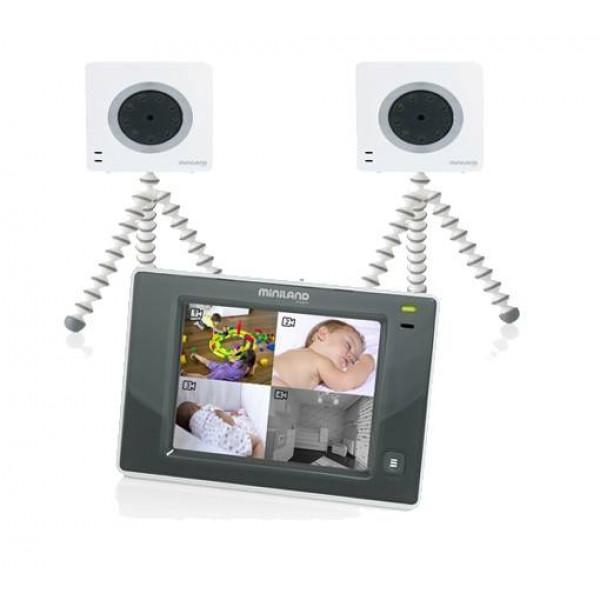 видеоняня с 2 камерами Miniland Digimonitor 3.5 Touch