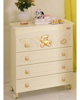 Пеленальный комод Baby Expert Ceramics Perla Gold